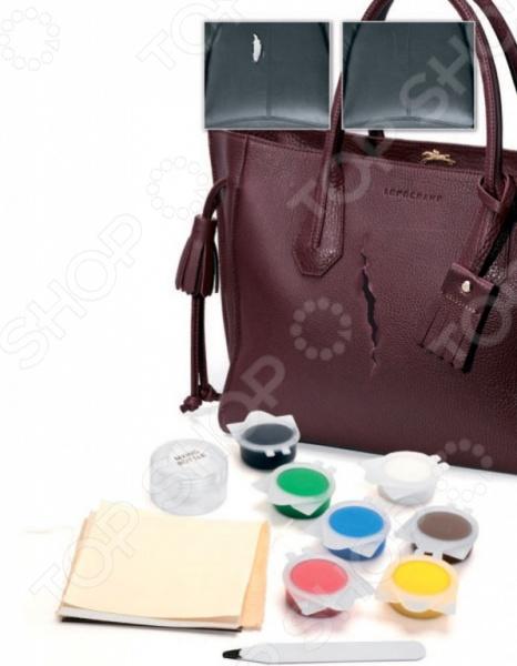 Набор для ремонта изделий из кожи и кожзама Bradex «Жидкая кожа». В ассортименте