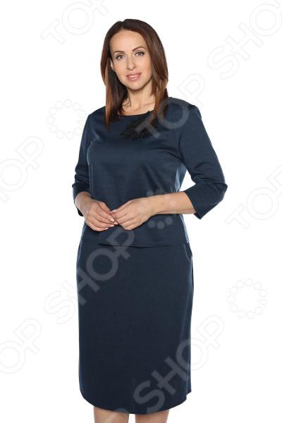 Блуза Pretty Woman Украшение вечера». Цвет: синий блуза pretty woman волшебный взгляд цвет темно синий