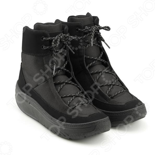Ботинки демисезонные высокие Walkmaxx. Цвет: серый, черный