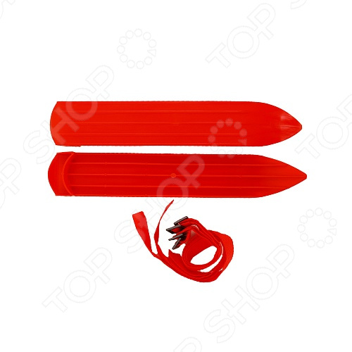 Мини-лыжи У638    /Красный