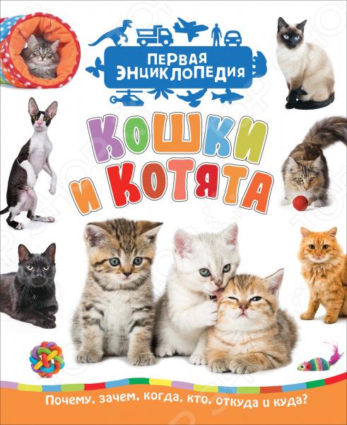 Кошки и котята Росмэн (Первая энциклопедия) энциклопедии росмэн энциклопедия для детского сада кошки и котята