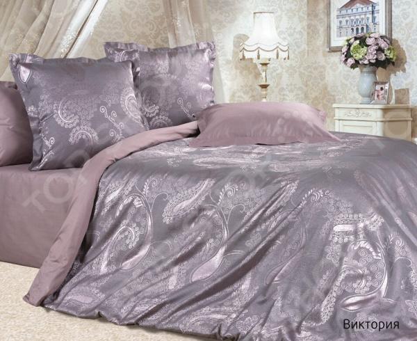 Комплект постельного белья Ecotex «Виктория». Евро постельное белье ecotex комплект постельного белья герцогиня