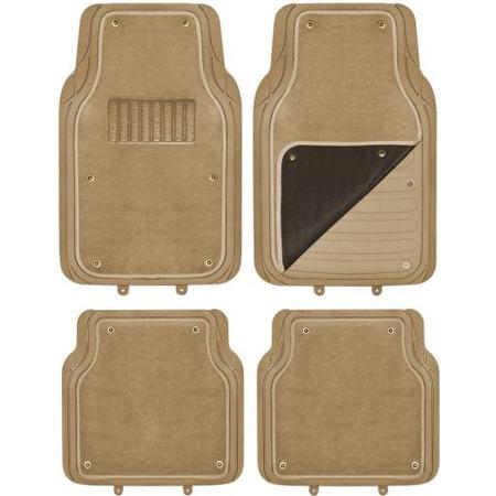 Купить Комплект из 4-х ковриков в салон автомобиля со съемным ковролином SKYWAY Cold-1
