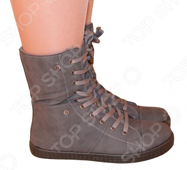 Ботинки АЛМИ Дублин. Цвет: серый