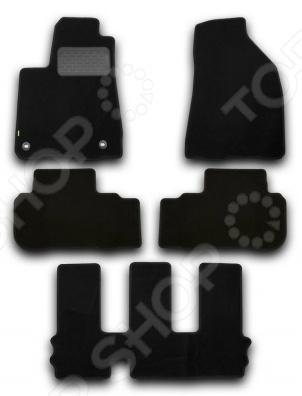 Комплект ковриков в салон автомобиля Klever Toyota Highlander 2014 Standard
