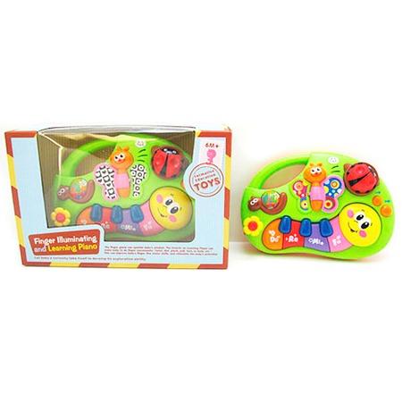 Купить Игрушка музыкальная Huile Toys «Пианино-гусеничка»