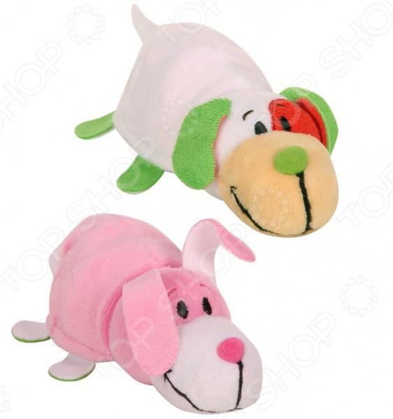 Мягкая игрушка ароматизированная 1 Toy «Вывернушка 2в1: Щенок-Заяц»