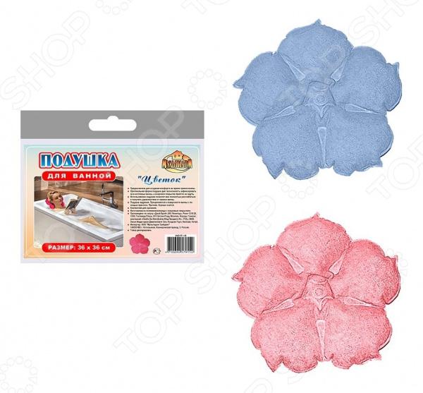 Подушка для ванны Мультидом «Цветок» WD17-18. В ассортименте