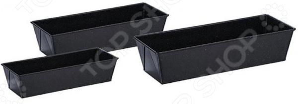 Набор прямоугольных форм для выпечки Zeidan Granite