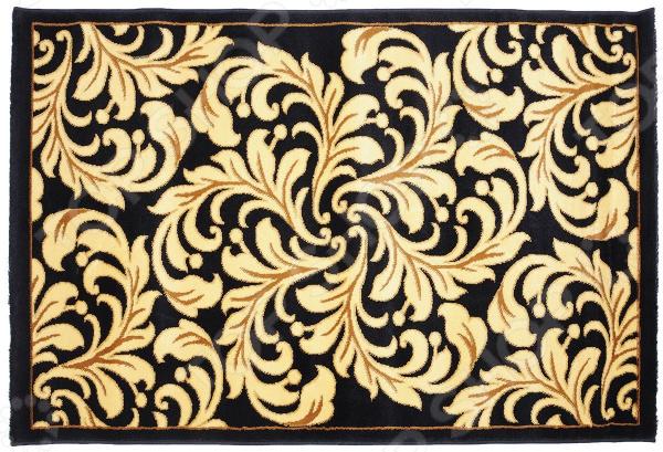 Ковер прямоугольный Kamalak tekstil «Огненный цветок». Цвет: синий - артикул: 1602434