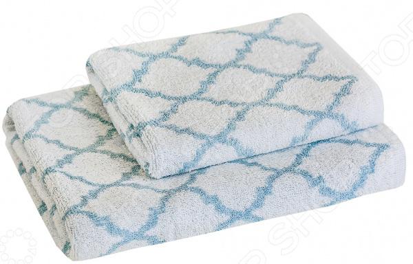 Полотенце махровое Василиса Fresh Look. Цвет: голубой