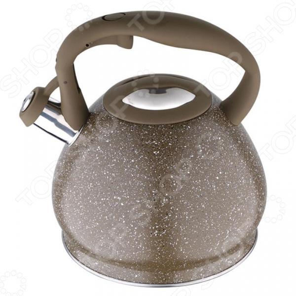 Чайник со свистком Wellberg 6239 WB чайник wellberg wb 3431 f