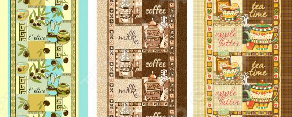 Подарочный комплект из 3-х вафельных полотенец ТексДизайн 1720613