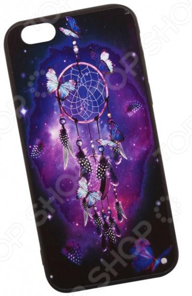 Чехол с защитным стеклом для iPhone 6/6S «Ловец снов»