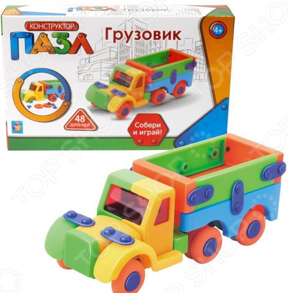 Пазл-конструктор 1 Toy «Грузовик» радиоуправляемый конструктор грузовик double eagle грузовик c51017w