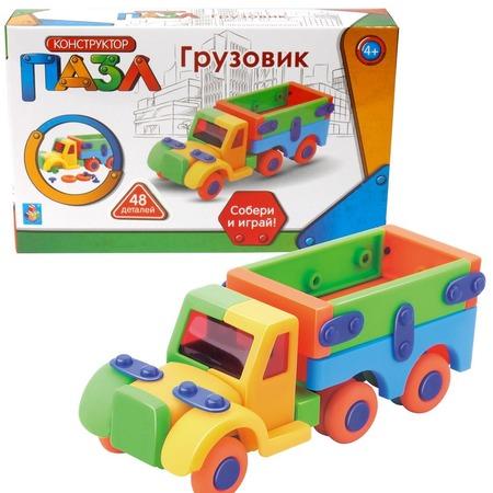 Купить Пазл-конструктор 1 Toy «Грузовик»