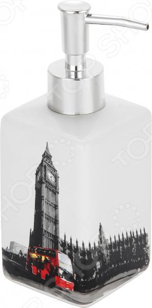 Диспенсер для жидкого мыла Рыжий кот «Лондон»
