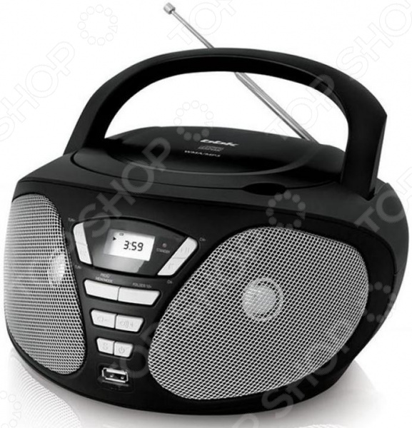 Магнитола BBK BX180U bbk bx190u black silver cd mp3 магнитола