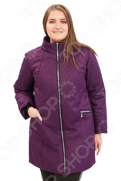 Куртка Гранд Гром «Бесценная женщина». Цвет: фиолетовый