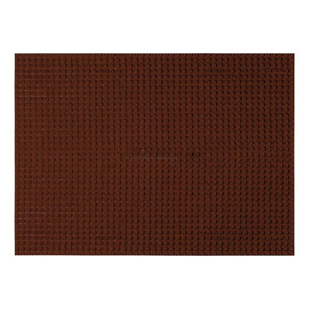 фото Коврик придверный Vortex «Травка». Размер: 60х90 см. Цвет: темно-коричневый