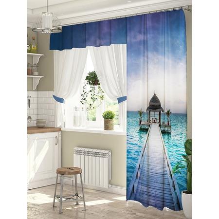 Купить Комплект штор для окна с балконом ТамиТекс «Спектр»