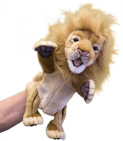 Мягкая игрушка на руку Hansa «Лев»