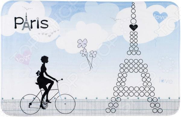 Коврик для ванной Tatkraft Paris Mademoiselle ёршик для туалета tatkraft paris mademoiselle acryl 3d