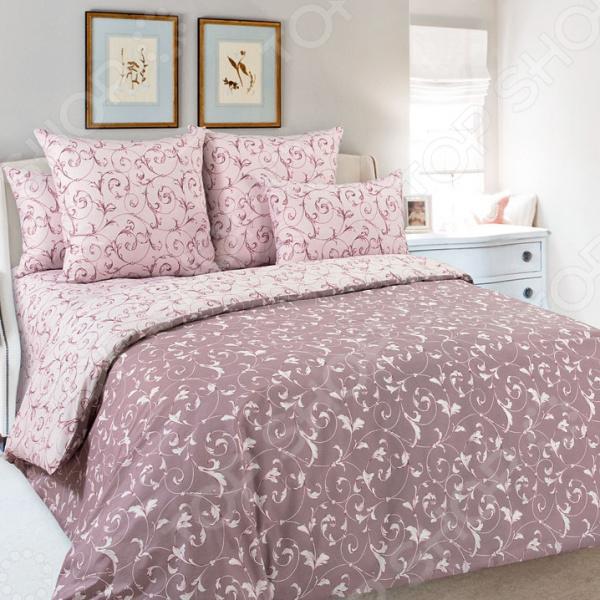 Комплект постельного белья Королевское Искушение «Габриэль». Цвет: коричневый