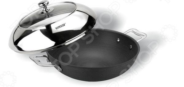 Вок с крышкой Vitesse VS-1013