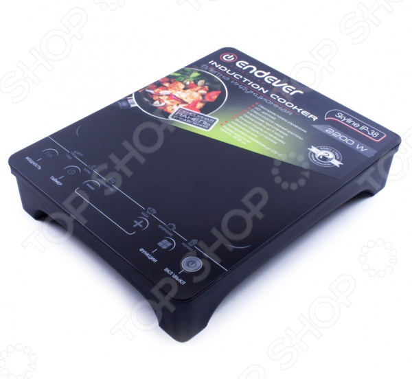 Плита настольная индукционная Endever Skyline IP-38 электрическая плита endever ip 28 закаленное стекло индукционная черный [80033]