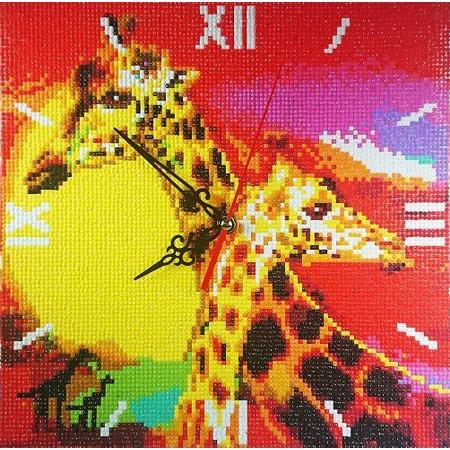 Купить Часы из алмазной мозаики Color Kit «Знойная Африка»