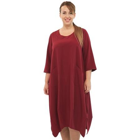 Купить Платье Pretty Woman «Сивилла». Цвет: бордовый