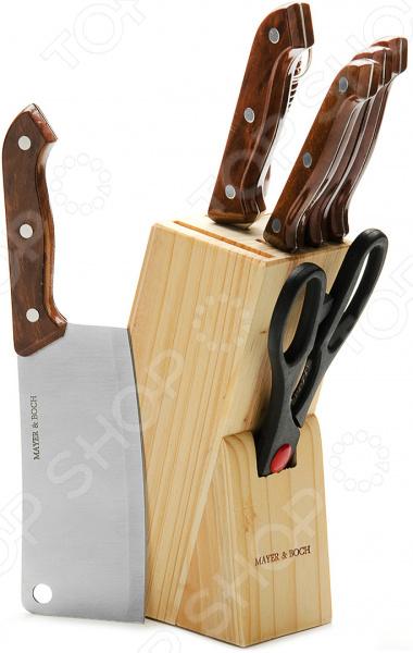 Набор ножей Mayer&Boch MB-509 набор кухонных ножей квартет кизляр
