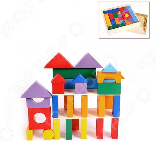Конструктор деревянный PAREMO «Кубики макси» в деревянном ящике Конструктор деревянный PAREMO «Кубики макси» в деревянном ящике /