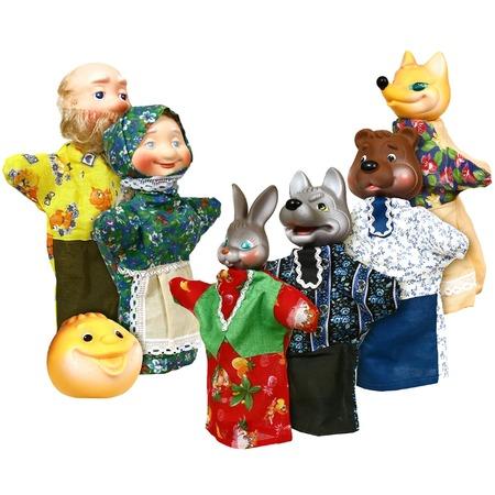 Купить Кукольный театр Огонек «Колобок»