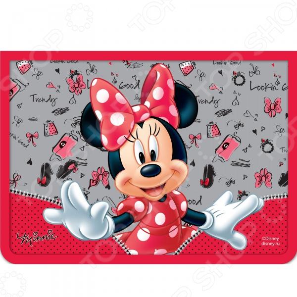 Папка для тетрадей Disney на молнии A4 «Минни»