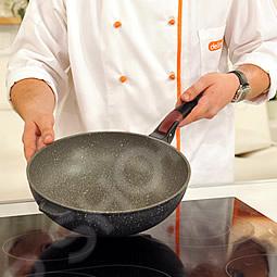 Сковорода вок Delimano Stone Expert Сковорода вок Delimano Stone Expert /
