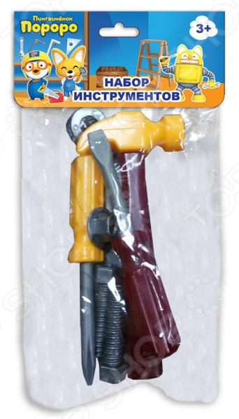 Набор инструментов игровой 1 Toy с хедером «Пингвиненок Пороро» Т58824 набор инструментов игровой 1 toy с хедером пингвиненок пороро т58824
