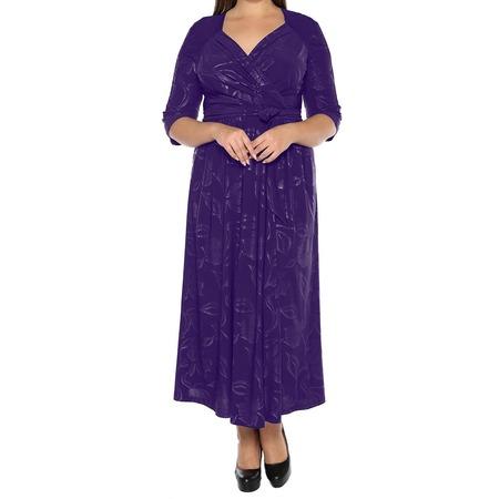 Купить Платье VEAS «Модный показ». Цвет: фиолетовый