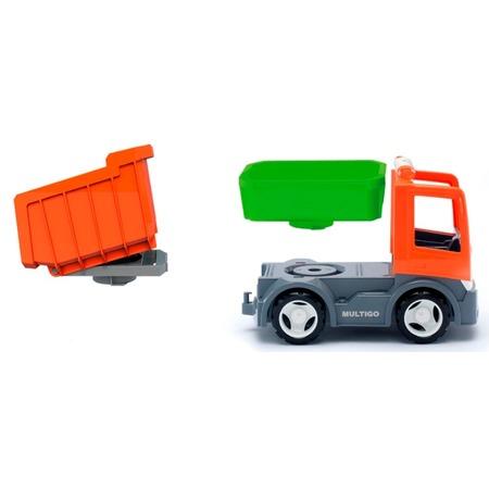 Купить Машинка игровая EFKO «Самосвал со сменным кузовом»