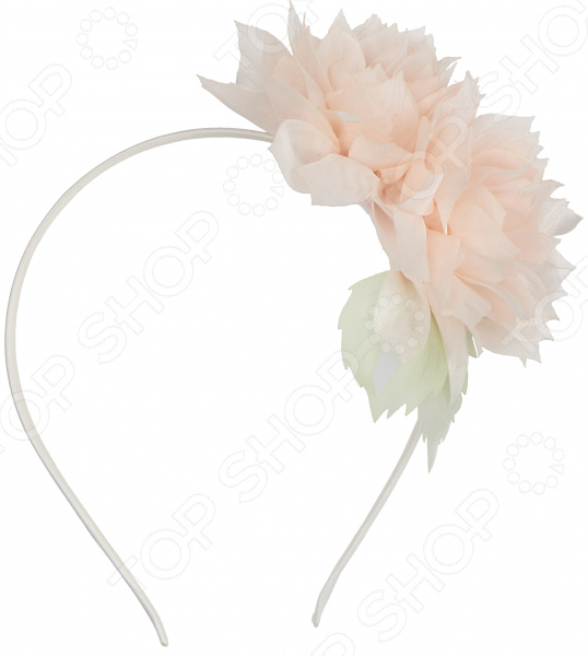 аксессуар для карнавала ободок зайки Ободок для волос Stilmark «Хризантема»