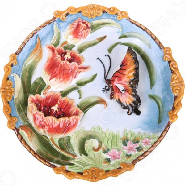 Тарелка декоративная Lefard 59-568 тарелка декоративная lefard 59 565