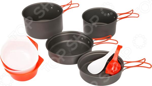 Набор портативной посуды Fire-Maple FMC-K7 котелок fire maple typhoon с теплообменной системой 1 л fmc xk6