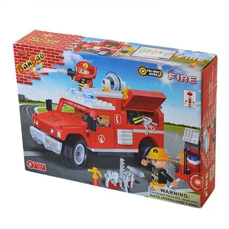 Купить Конструктор Banbao Пожарная машина, 242 детали