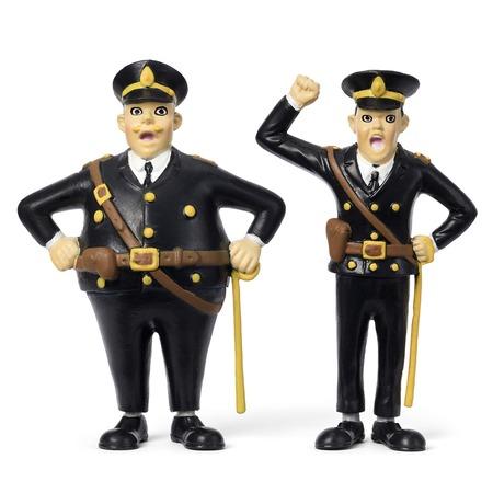 Купить Набор кукол для домика Micki «Пеппи Длинный Чулок. Полицейские»