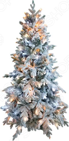 Ель искусственная Green Trees «Россо Премиум» снежная световая