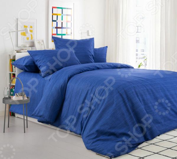 Комплект постельного белья ТексДизайн «Синий агат» комплект постельного белья altinbasak 1 5 сп ранфорс athletik голубой 298 42 char001