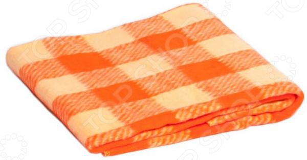 Одеяло байковое для новорожденных Dream Time «Клетка»