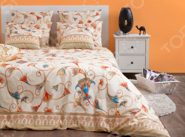 Комплект постельного белья Хлопковый Край «Египет» 5485/1 комплект постельного белья хлопковый край египет 5485 1