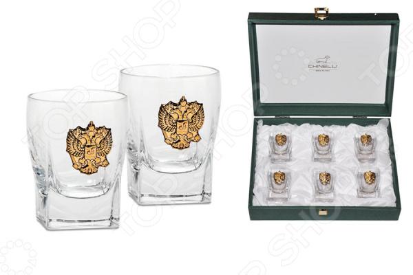 Набор стопок для водки Chinelli «Россия» Chinelli - артикул: 1675903